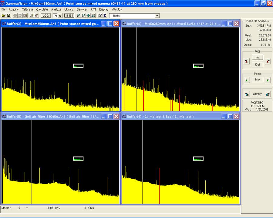 GammaVision gammaspektroskopiaan